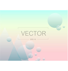screen gradient with modern abstract background vector image