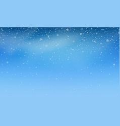 snow transparent realistic snow background vector image