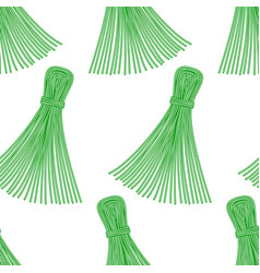 Thread tassel pattern vector
