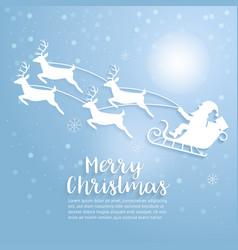 merry christmas art and vector image