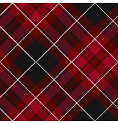 Pride of wales fabric texture red and black vector image vector image