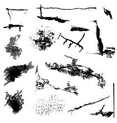 Distress Elements vector image