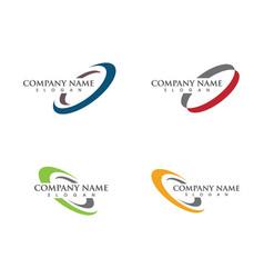 circle icon logo vector image