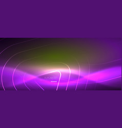 color shiny neon lights background with abstract vector image