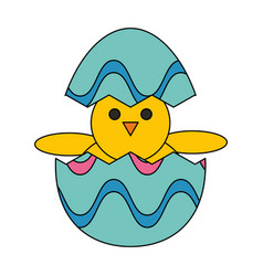Cute chick design vector