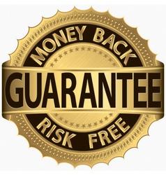 Money Back Guarantee vector