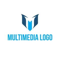 Multimedia logo vector