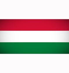 National flag of Hungary vector image