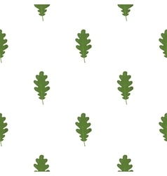 Oak Leaf icon in cartoon style for web vector
