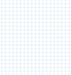 Squared paper seamless vector image vector image
