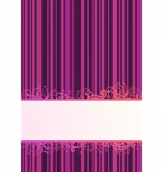 wallpaper poster vector image vector image