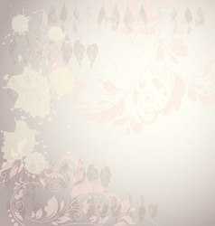 floral background EPS 10 vector image vector image
