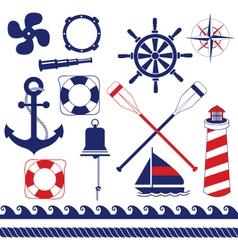Nautical Equipment vector image