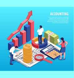 Accounting isometric composition vector