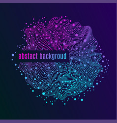 astract ultraviolet background vector image