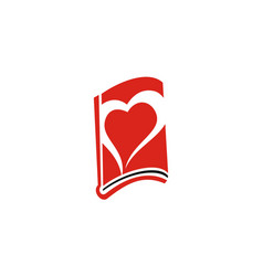 book love vector image