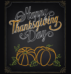 Card thanksgiving day vector