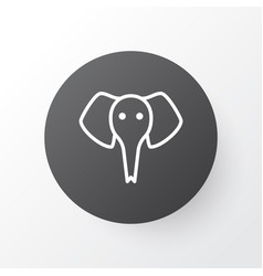 elephant icon symbol premium quality isolated vector image