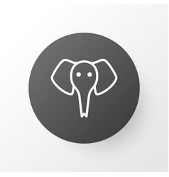 Elephant icon symbol premium quality isolated vector
