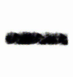 halftone grunge banner vector image