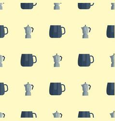 kitchen utensils seamless pattern vector image