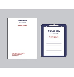 Professional Corporate Identity kit or business vector