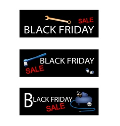 Repair Tools Kits on Black Fri vector image
