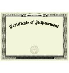 Vector blank certificate background vector