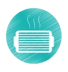 Ventilation grill icon vector