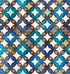 Vintage mosaic seamless pattern vector