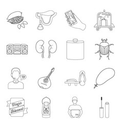 cosmetics medicine hunting and other web icon in vector image vector image