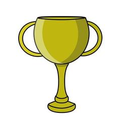 Retro cup design vector image