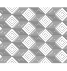 Abstract Black and White ZigZag Seamless Pattern vector image
