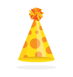 party hat icon vector image