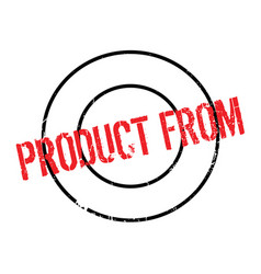 Product from rubber stamp vector