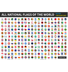 All official national flags of the world vector