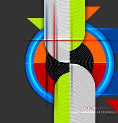 Curve colors vector