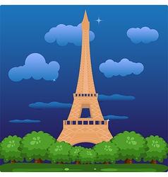 Eiffel vector image