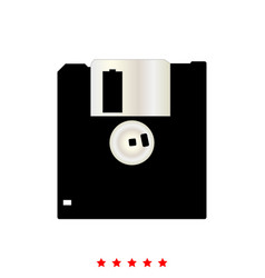 floppy disk it is icon vector image