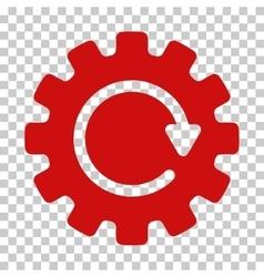 Gearwheel Rotation Icon vector