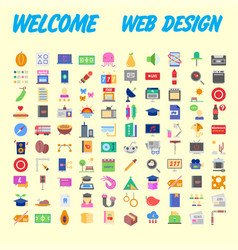 Set line icons in flat design with elements for vector