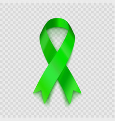 stock lime green ribbon vector image