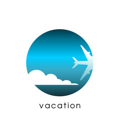 travel and vacation concept vector image