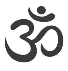 Aum Om Ohm symbol vector image
