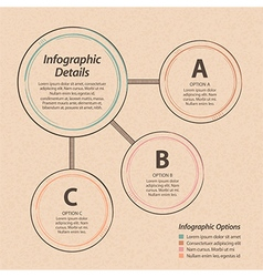 infographic design element background vector image vector image