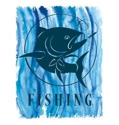tuna fish vector image vector image