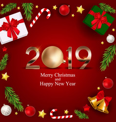 2019 new year background vector