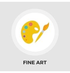 Fine Arts flat icon vector