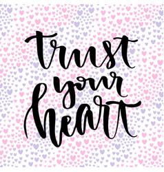 inspirational and motivational handwritten vector image