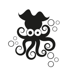Logo octopus vector